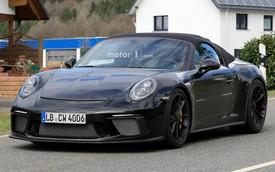 Porsche chia tay thế hệ 911 hiện tại bằng bản Speedster 2019