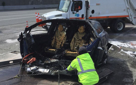 Tesla đổ lỗi tai nạn do người lái, gia đình nạn nhân chuẩn bị kiện