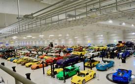 Bảo tàng xe cơ bắp Mỹ: Nơi có tiền cũng không thể vào thăm