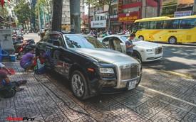 Ông chủ cafe Trung Nguyên mang 2 chiếc Rolls-Royce đến showroom để bán và làm đẹp