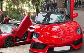 Nỗi khổ của chủ siêu xe Lamborghini Aventador Roadster mui trần khi gặp mưa tại Hà Nội