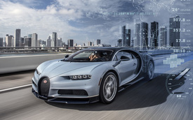 Siêu xe triệu đô Bugatti Chiron được giám sát như thế nào?