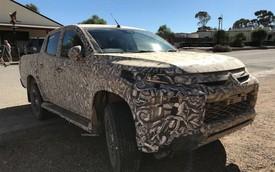 Lộ ảnh thử nghiệm của Mitsubishi Triton 2019: Ngày càng giống Pajero Sport
