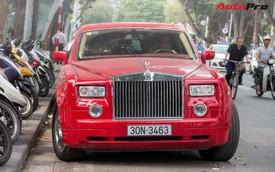 Rolls-Royce Phantom 13 năm tuổi, màu độc nhất vô nhị tái xuất tại Hà Nội