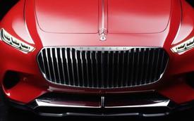 SUV siêu sang của Mercedes-Maybach nhá hàng lần cuối trước khi ra mắt