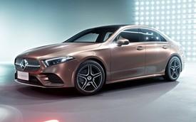 Mercedes-Benz A-Class sedan chính thức lộ diện