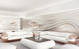 Đây là phòng khách dành cho người cuồng Mercedes-Maybach