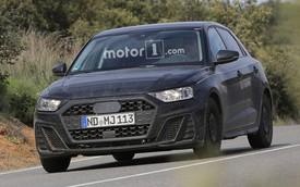 """Audi A1 2019 """"trần trụi"""" trước ngày ra mắt"""