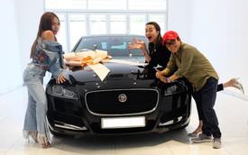 Thiều Bảo Trang, Phương Uyên tậu Jaguar XF hơn 3 tỷ đồng