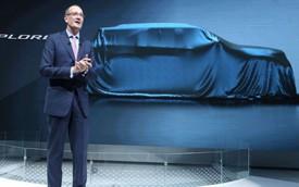 Ford chốt ngày ra mắt Explorer hoàn toàn mới