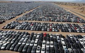 Cận cảnh nghĩa địa khổng lồ toàn xe lỗi của Volkswagen