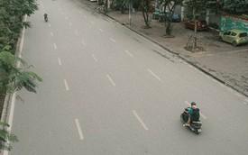 Có một Hà Nội vắng vẻ, bình yên, không còi xe của những ngày nghỉ lễ!