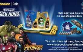 """Dầu nhớt Caltex bắt tay cùng """"Avengers"""" phát động chiến dịch """"Sức mạnh siêu anh hùng"""""""