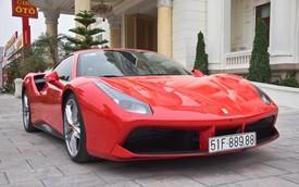 Ca sĩ Tuấn Hưng mang siêu xe Ferrari 488 GTB nhập hội cùng câu lạc bộ mô tô Hải Dương