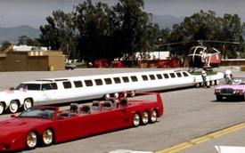 Xe dài nhất thế giới: Có cả bể bơi, sân đỗ trực thăng