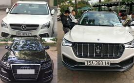 """Muôn vàn kiểu """"lên đời"""" xe sang từ ô tô Trung Quốc tại Việt Nam"""