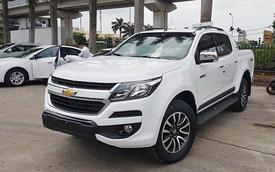 Chevrolet Colorado trước cơ hội nắm ngôi vương doanh số bán tải lần đầu tiên trong tháng 5