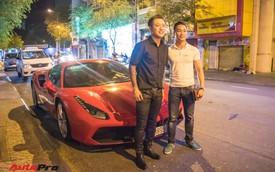 Tuấn Hưng cùng Ferrari 488 GTB bất ngờ xuất hiện tại Sài Gòn