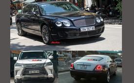 Điểm mặt bộ ba xe sang mang 'siêu' biển 56789 tại Hà Nội