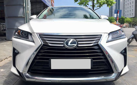 Lăn bánh 15.000km, Lexus RX 200t 2016 được rao bán lại giá ngang khi mua mới