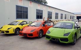 "Bugatti Chiron, Lamborghini Murcielago và Audi R8 ""made in China"" này chỉ có giá hơn 100 triệu đồng"