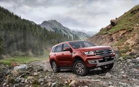 Everest bất ngờ được Ford trang bị động cơ của Ranger Raptor