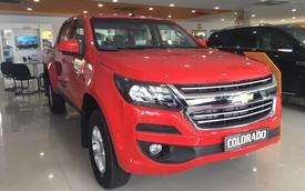 Vượt rào 116, Chevrolet Colorado số tự động mới về Việt Nam, giá thấp hơn Ford Ranger 34 triệu đồng