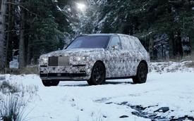 Rolls-Royce chốt lịch ra mắt Cullinan, chỉ còn chưa đến 10 ngày