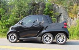 Xe nhỏ hơn cả Kia Morning cũng độ lên 6 bánh