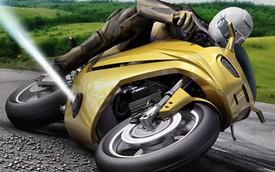 Biker không lo trượt bánh với công nghệ từ vũ trụ này