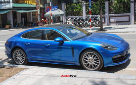 """Đại gia Hà Nội """"độ"""" Porsche Panamera ngầu hơn với gói trang bị bằng tiền mua Kia Morning"""