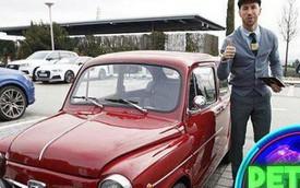 """Ramos có bộ sưu tập xe sang 60 tỷ, nhưng chiếc xe cổ này mới là """"con cưng"""""""