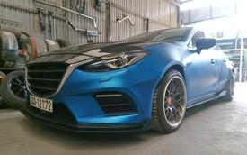 """Mazda3 lên bodykit thân rộng """"handmade"""" độc đáo tại Hải Dương"""