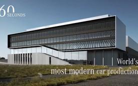 Mercedes-Benz giới thiệu nhà máy tân tiến nhất thế giới trong 60 giây