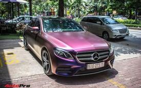 """Fan nữ Hello Kitty tại Sài Gòn chi 40 triệu đồng biến Mercedes-Benz E300 AMG thành """"tắc kè hoa"""""""