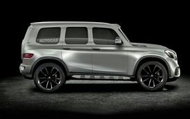 SUV nhỏ hơn Mercedes-Benz GLC lộ diện tại đại lý trước khi ra mắt