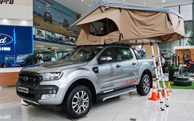 Khám phá lều di động giá 40 triệu đồng cho dân chơi SUV/bán tải Việt
