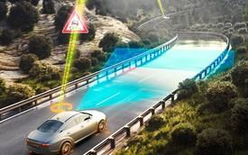 Xe hơi sắp cảnh báo được cả tình trạng mặt đường