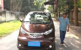 Chưa học hết lớp 9, bác thợ Việt sáng chế ra xe ô tô điện đi 100 km chỉ tốn chi phí tương đương đổ 1 lít xăng
