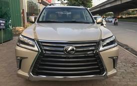 Lexus LX570 2018 bản Mỹ về Việt Nam, giá tăng vọt lên mức gần 9,2 tỷ đồng