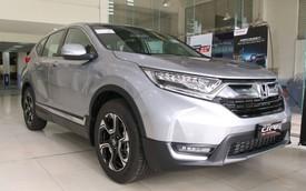 Honda CR-V bất ngờ bán chạy gấp đôi Mazda CX-5