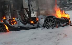 Cháy nổ giữa xe xăng với xe điện khác gì nhau?