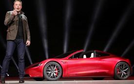 Siêu xe Tesla Roadster sử dụng động cơ đẩy của tên lửa SpaceX