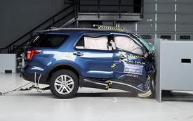 Ford Explorer bị chấm điểm siêu tồi trong bài thử va chạm, thua xa Kia Sorento