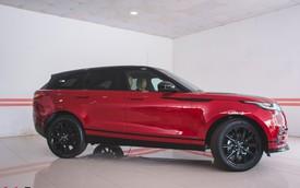 Soi kĩ Range Rover Velar màu đỏ đầu tiên của Việt Nam