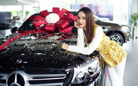 Hoa hậu Hương Giang mua Mercedes-Benz GLC 300
