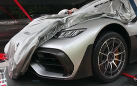 Mẫu xe mạnh mẽ nhất của Mercedes-AMG là Project One lần đầu lộ diện trên phố