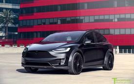 Tesla Model X P100D hầm hố cho đại gia thích hàng độc