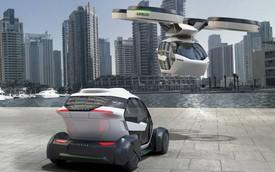 Taxi bay đang ngày một tiến gần tới hiện thực hơn nhờ dự án này của Audi