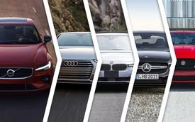 Volvo S60 2019 đọ thiết kế với Audi A4, BMW 3-Series, Mercedes-Benz C-Class và Jaguar XE
